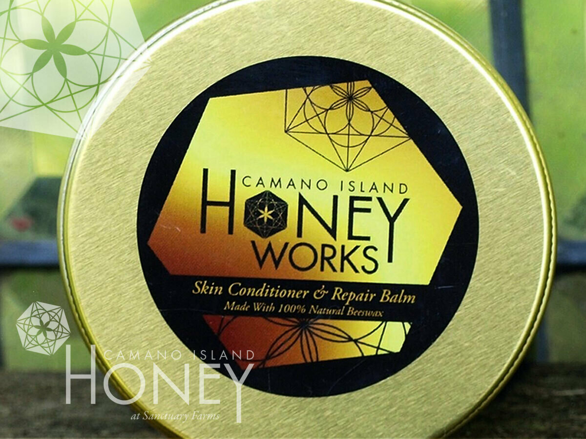 Camano Island HoneyWorks Skin Conditioner and Repair Balm