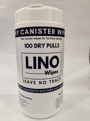 DIY Canister Dry Wipes 100 Pulls