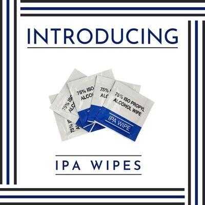 75% IPA Alcohol Wipe 20x15 cm