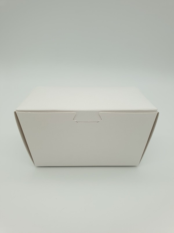 Box Truffle Large White 90 x 50 x 55 mm (each)