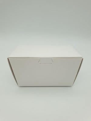 Box Truffle Large White 90 x 50 x 55 mm (each)
