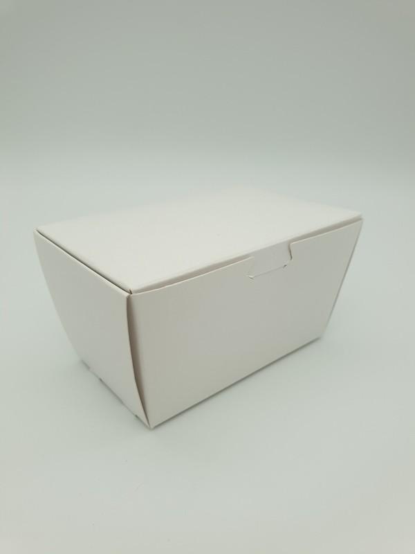 Box Truffle Medium White 75 x45 x 40 mm (each)