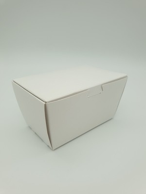 Box Truffle Medium White 75 x45 x 40 mm (each)