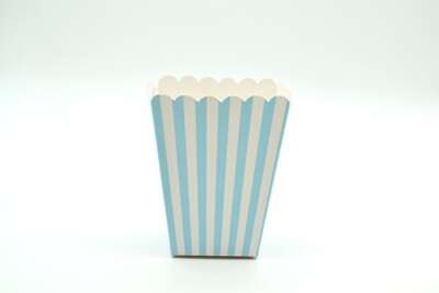 Box Popcorn Mini B/Blue 5 x 5 x 10 cm (each)