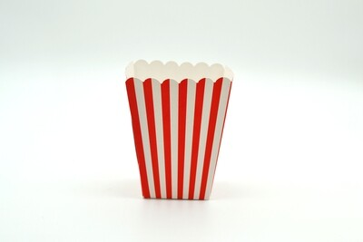 Box Popcorn Mini Red 5 x 5 x 10 cm (each)