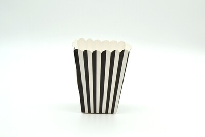 Box Popcorn Mini Black  5 x 5 x 10 cm (each)