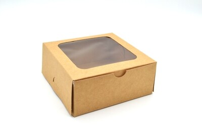 Cake Box Window 5 x 5 x 2.5