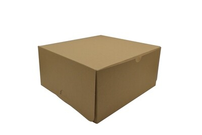 Cake Box Eco Brown 12 x 12 x 6