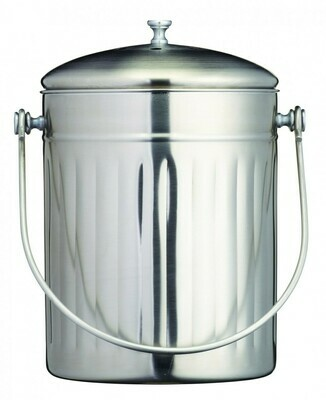 Stainless Steel Composter Bin 5 L