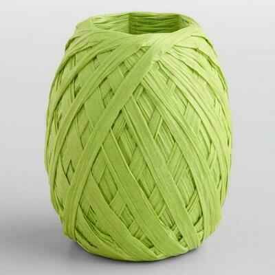 Raffia Paper 20m Green
