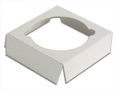 CupCake Single Box Insert White (Qty 100)