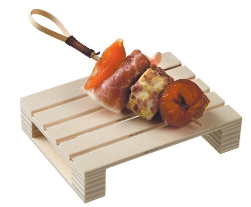 Mini Wooden Pallet  8cm x 6cm x 1.7cm (ea)