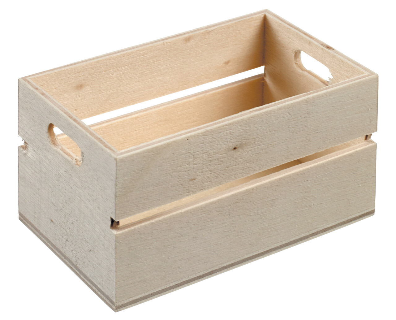 Mini Wooden Crate 80x50x40mm (ea)