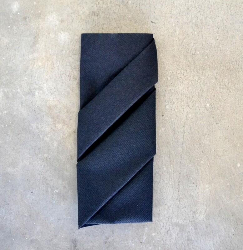 Napkins Airlaid Grande Black 40 x 40cm (Qty 50)