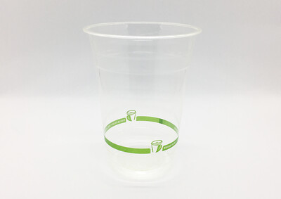 BioCup PLA Clear Cup 500ml (Qty 100)
