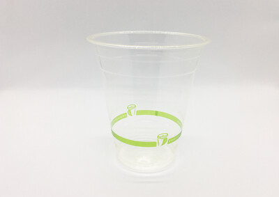 BioCup PLA Clear Cup 350ml (Qty 100)