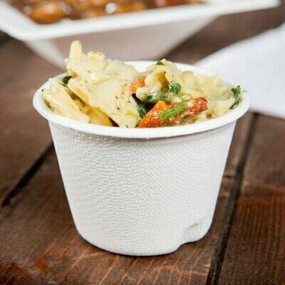 E - Compostable Bagasse Sampling Cup 140ml (50)