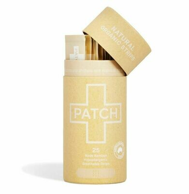 Patch Natural Adhesive Bandages Tube of 25