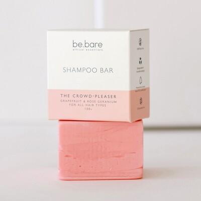 THE CROWD-PLEASER GRAPEFRUIT & ROSE GERANIUM  SHAMPOO BAR FOR ALL HAIR TYPES