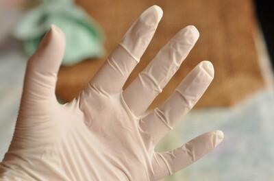 Gloves Nitrile Powder Free - Medium (100)