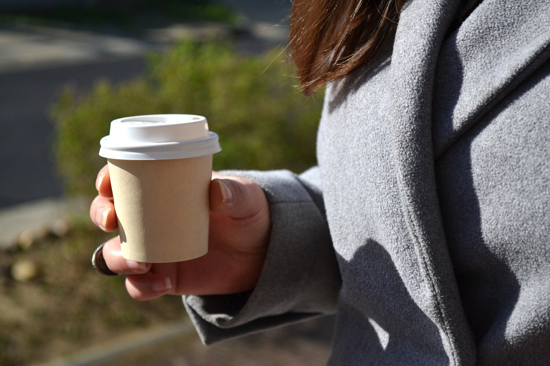 Coffee Cups Single Wall Espresso 100ml - Bamboo (Qty 50)