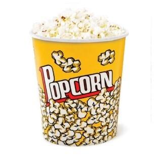 Popcorn Boxes 130oz - 3.8 litres (each)