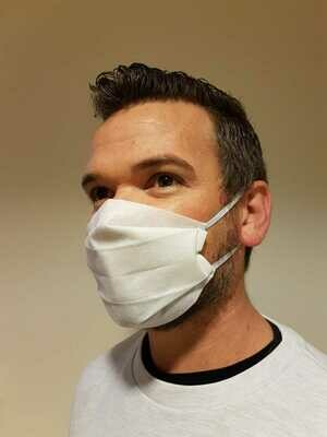 Reusable Surgical Mask White Ear Loop