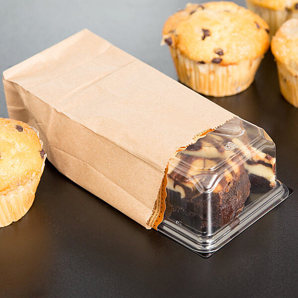 Paper Bags SO 1 Brown - 90x57x190mm (Qty 100)