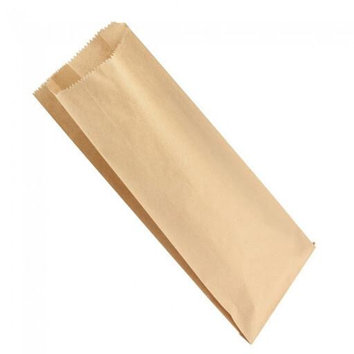 Paper Bags Kraft Double Bottle 160x77x395mm - (Qty 50)