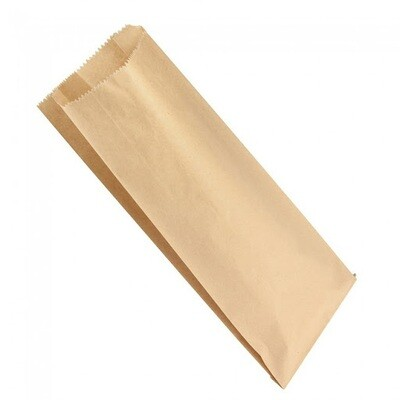 Paper Bags Kraft Double Bottle 160x77x395mm - (Qty 50)