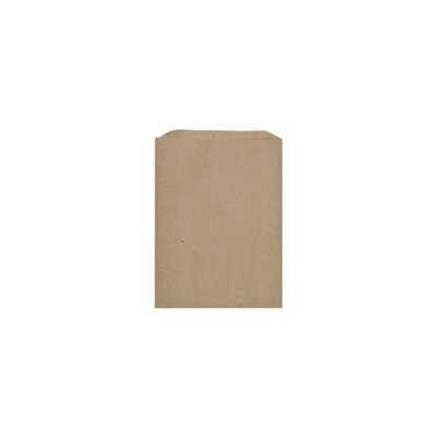 Paper Bags Kraft Size 1 - 140x180mm (Qty 100)