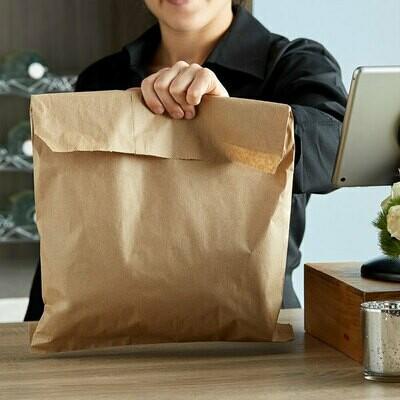 Paper Bags Kraft Jumbo - 310x410mm (Qty 100)