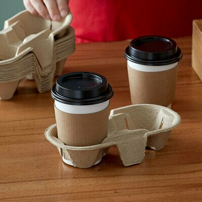 Coffee Cup Carrier 2 Div (Qty 60)