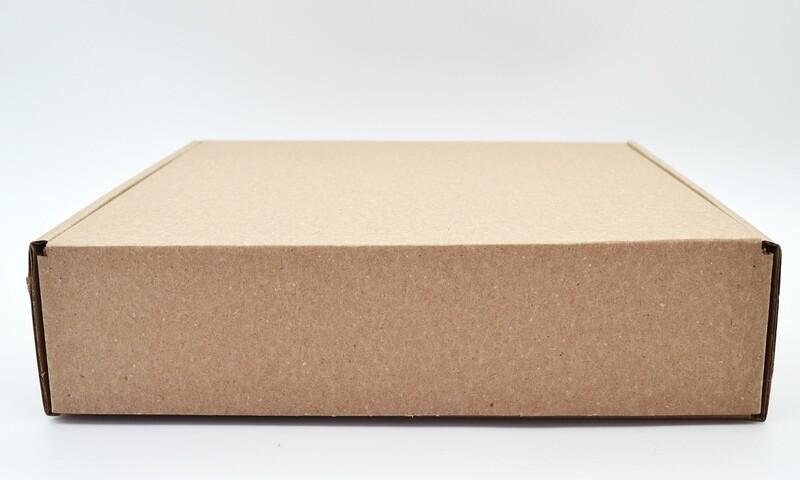 Box Corrugated Patti 255mm x 245mm x 65mm Kraft