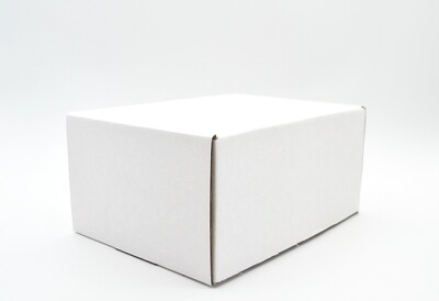 Box Corrugated Samoosa - 210x160x105 - White (ea)