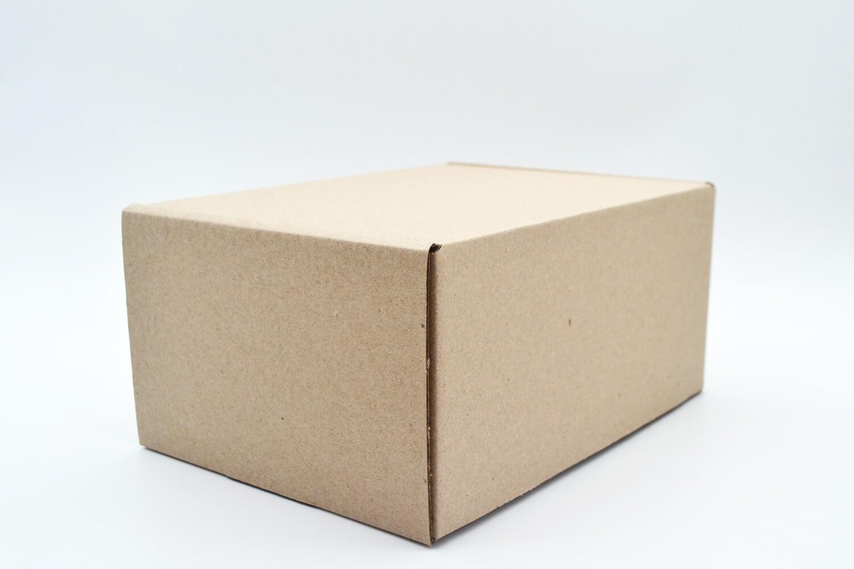 Box Corrugated Samoosa - 210x160x105 - Kraft (ea)
