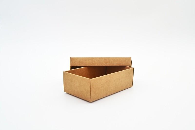 Gift Box Kraft Base Kraft Lid 54x89x30 mm (ea)