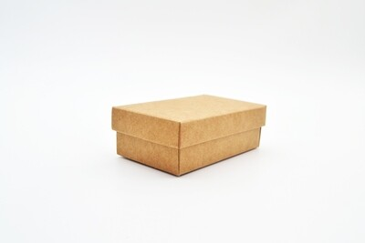 Gift Box Kraft Base Kraft Lid 54x89x30 mm (ea)
