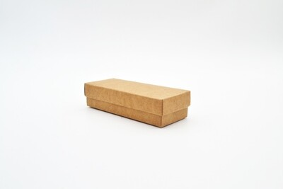 Gift Box Kraft Base Kraft Lid 40x105x25 mm (ea)