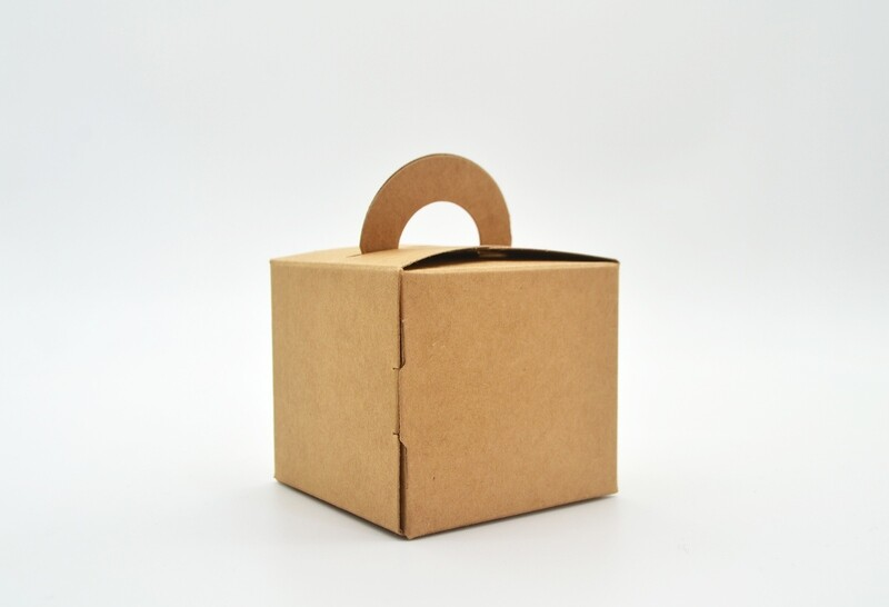 Novelty Box 65x65x60mm Kraft (ea)