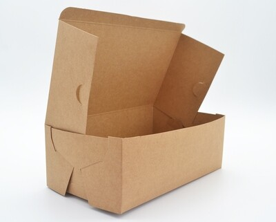 Cake Box Eco Brown 8 x 5 x 3 (pack of 100)