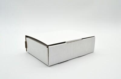 Box Corrugated Parcel Small - 155 x 105 x 43 White (ea)