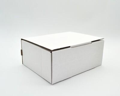 Box Corrugated Parcel Medium - 205 x 155 x 85 White (ea)