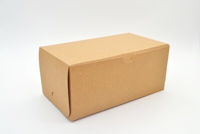 Cake Box Eco Brown 9 x 5 x 4 (ea)