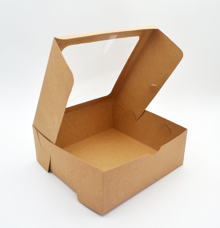 Cake Box Window 8 x 8 x 3