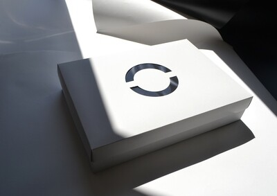 CupCake 24 Box Corrugated Base + Lid - White (ea)