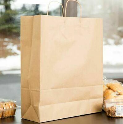 Paper Bags Twist Handle Super Kraft (Qty 25)