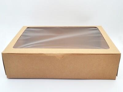CupCake 12 Box Window Kraft (EA)