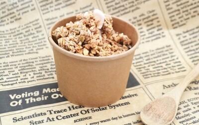 Tub Ice Cream + Lid Combo Kraft 350ml (Qty 50)