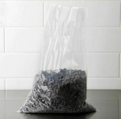 Clear Plastic Bags 250x400x50 (Qty 250)